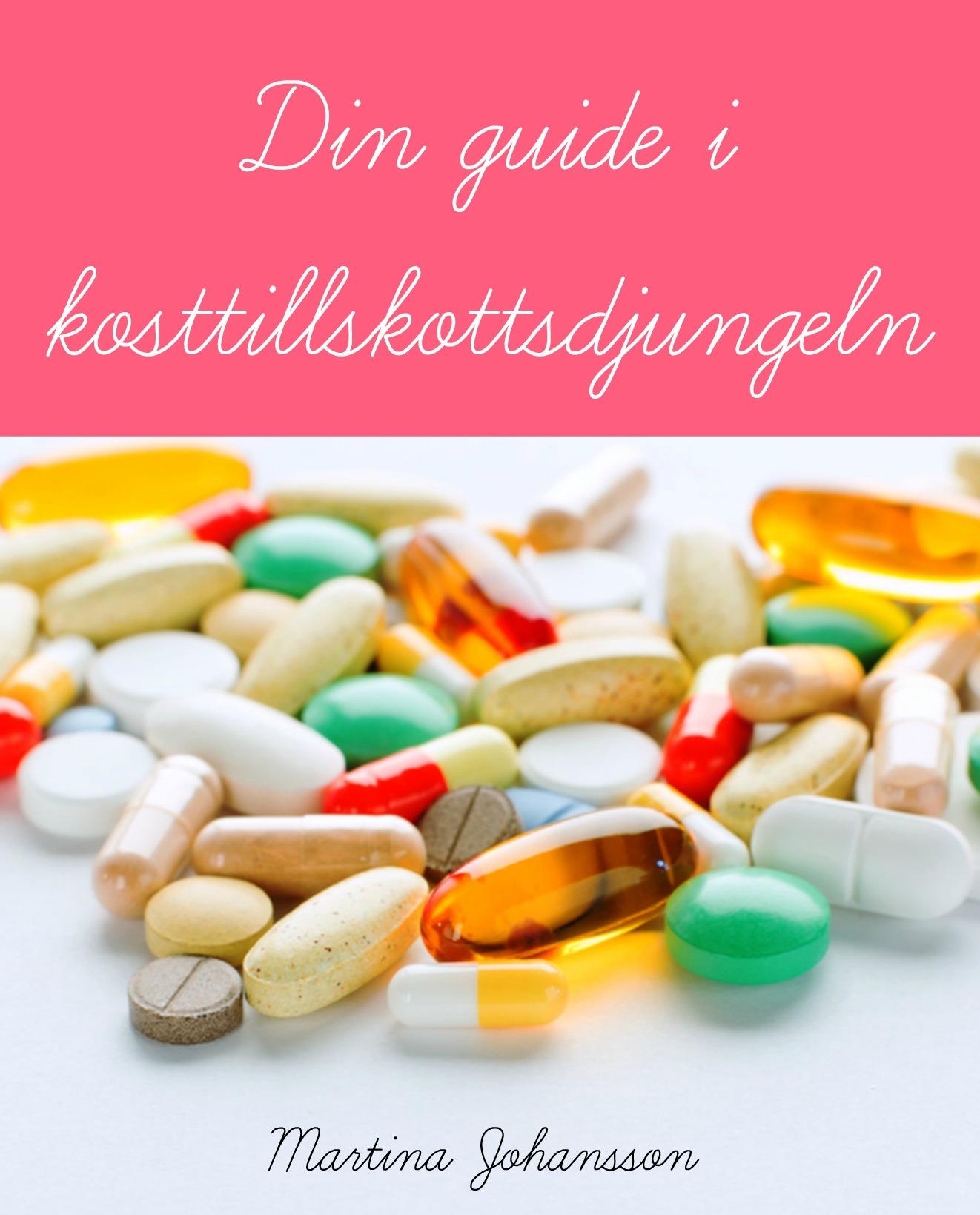 E-bok om kosttillskott