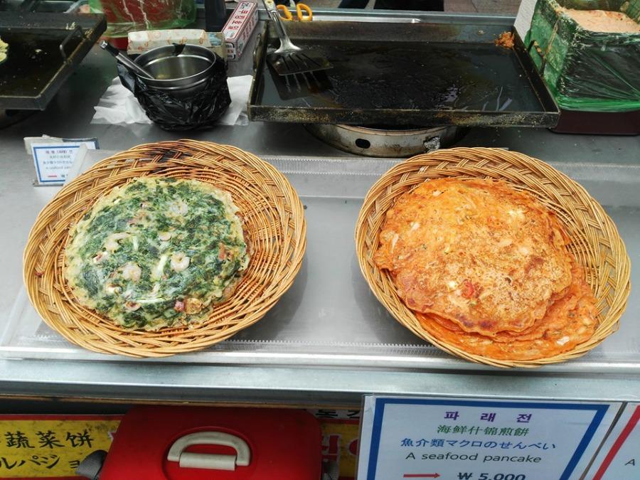 koreansk pannkaka