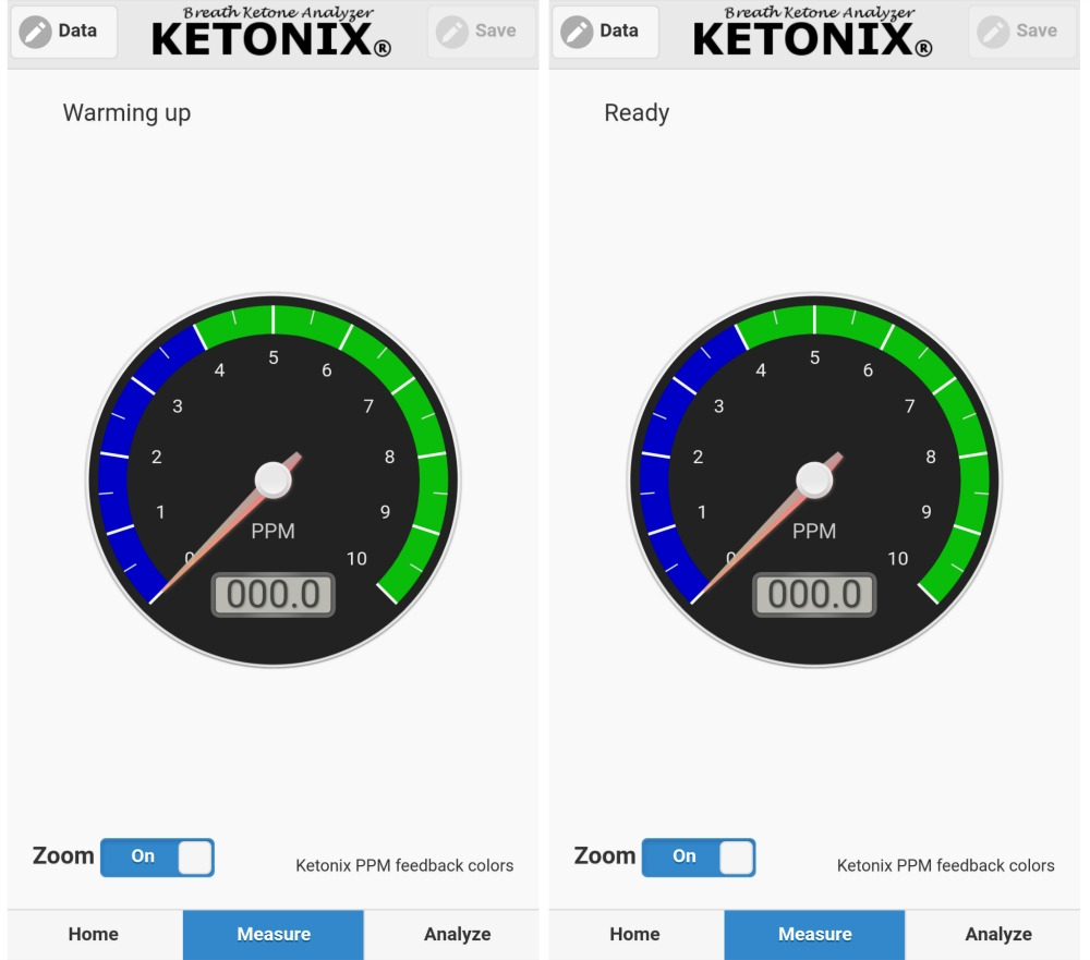 Ketonix bluetooth
