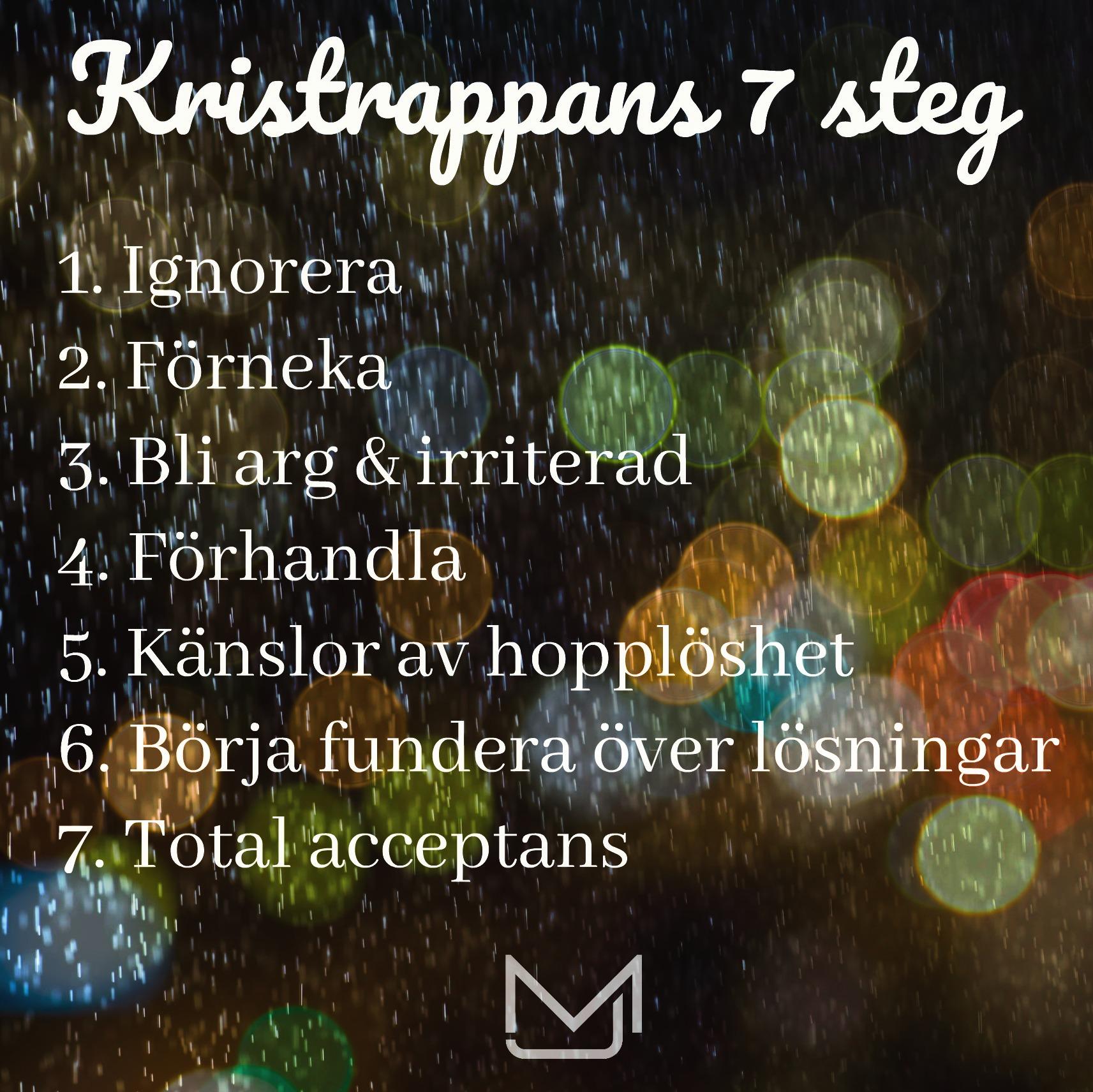 Kristrappans 7 steg